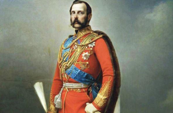 Император Российской империи Александр II