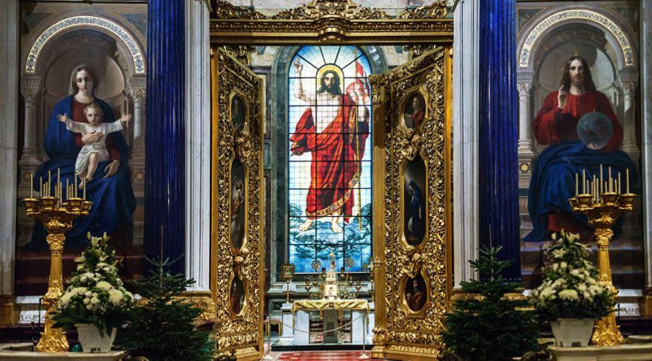 Алтарь Исаакия Далматского - Главный алтарь Исаакиевского собора